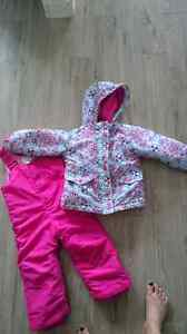Girls Toddler Snowsuit and Boots