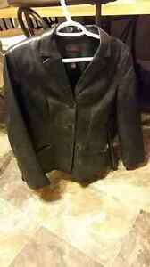 Woman's genuine leather jacket