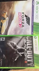 Black ops 2 and forza horizon 2