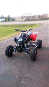 2002 400ex trade for offroad vehicule JEEP