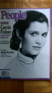 People's Commemorative Edition to Carrie Fisher.