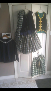 highland dancing out fits