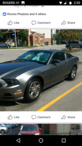 2014 ford mustang v6 upgraded racardo seats