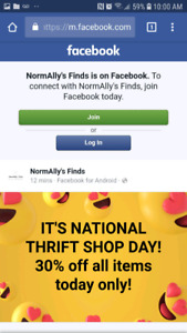 National Thrift Shop Day!