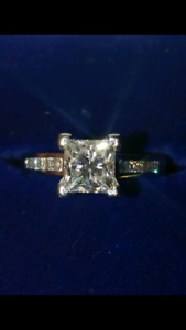 New Engagement Ring 3 Piece Set $21,800