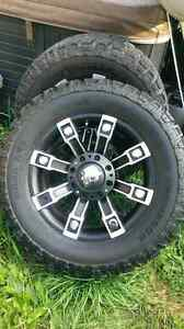 Mickey Thompson tires and pro comp rims