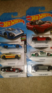Hot wheels mainline euro cars and trucks