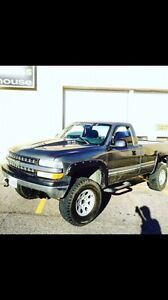 2001 Chevy Silverado 1500 4X4 lifted