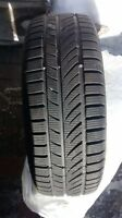 4 pneus hiver Hankook winter I-pike 175-70 R13 comme neuf seulem
