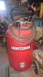 Craftsman air compressor 30  gal
