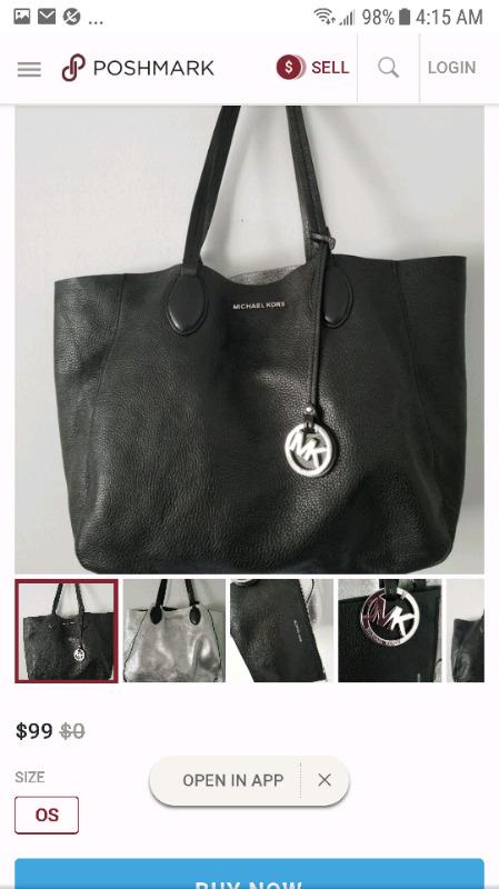Wanted: Michael kors reversible tote bag