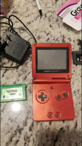 Gameboy advance with 6 ganes