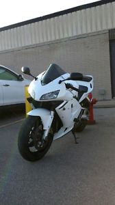 2003 HONDA CBR 600RR WHITE RARE !LOW KMS
