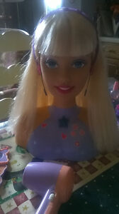 Talking Barbie Head with Accessories Windsor Region Ontario image 6