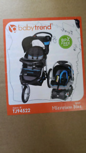 baby trend expedition stroller and carseat