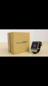 Priced to sell In the box Samsung Gear 2 smart watch