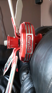 Rare 1997  Coca-Cola  collector's  ceiling fan