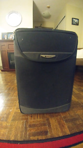 Small luggage suit case
