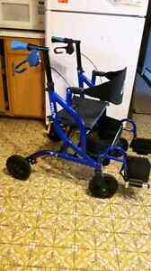 Fusion Airgo Dual Walker/Chair as New