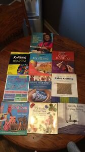 10 Excellent Condition Knitting Books