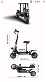 Powerful electric scooter for sale