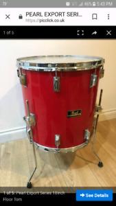 Vintage 88' - 89' pearl export drums wanted