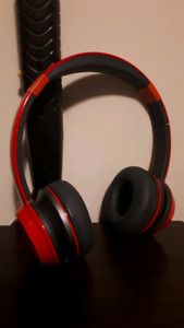 Monster NCredible Headphones (Cherry Red) [Slightly Taped Up]