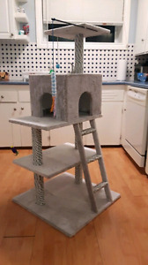 Custom built cat trees