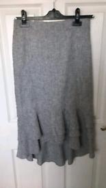 Oasis Grey Skirt