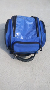 Blue Gears motorcycle tank / tail bag