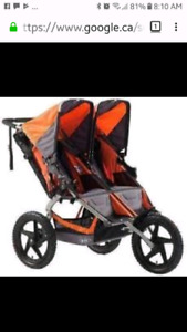 LOOKING TO BUY - Double Jogging Stroller