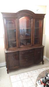 Antique China Cabinet / Hutch