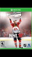 Nhl 16 for Xbox one (NEW)