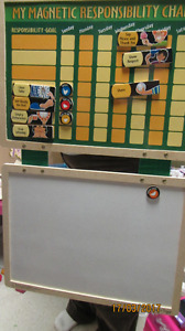 Magnetic Responsibility Chat and Magnetis White Board