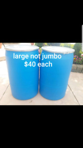 Large shipping barrels 3 for $100