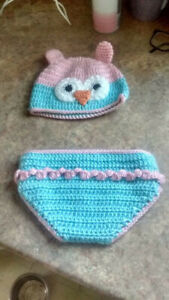 Owl Hat and Bottom