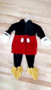 Mickey mouse costume Size 18_24 months