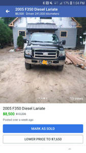 F350 2005 6.0 lariette super dry quad cab 6.6 box