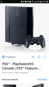 ps3 with controller. send me an offer