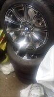 """Winter kit bmw model wheels and tires 17"""""""