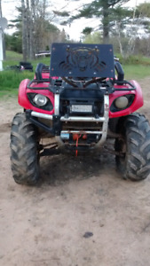 2005 Yamaha Grizzly 660 4x4!