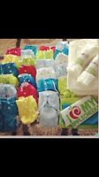 AppleCheeks full time diapering kit - both sizes