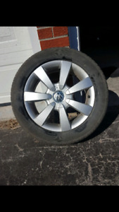 Volkswagen golf rims and tires