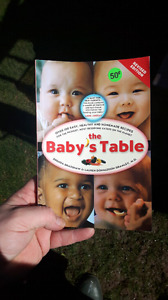 Baby food cook book