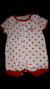 3 month Canadian carters romper