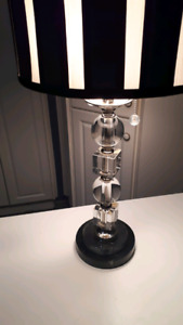 Dale Tiffany Crystal table lamp.
