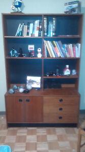 Bibliothèque en bois - wood Bookcase
