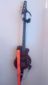 Bass guitar and accessories