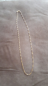 "Price negotiable!! Women's 10k 16"" gold chain"