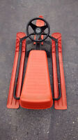 NOMA SLED WITH STEERING WHEEL